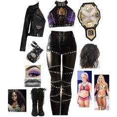 Designer Clothes, Shoes & Bags for Women Wrestling Costumes, Wrestling Outfits, Wrestling Clothes, Wwe Outfits, Avengers Outfits, Cosplay Outfits, Casual Outfits, Female Outfits, Dark Fashion