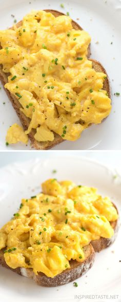 6 Tips for the Best Scrambled Eggs ~ Soft, creamy and absolutely delicious