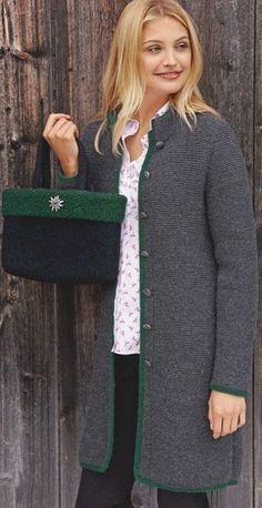 Простое пальто спицами Knit Cardigan Pattern, Crochet Jacket, Knit Jacket, Crochet Beanie Pattern, Knit Crochet, Knitted Coat, Mohair Sweater, Long Sweaters, Sweaters For Women