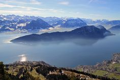 Mount Rigi in Switzerland