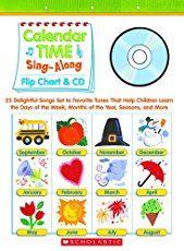 Establish a developmentally appropriate calendar routine (attendance, schedule, etc.) during circle time in the preschool classroom.