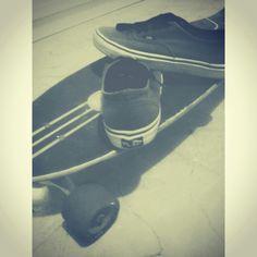 Longboard & Vans
