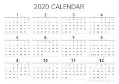 2020년 달력 프린트 파일 공유 다운로드 : 네이버 블로그 Engineering Resume, 2021 Calendar, Words, Horse
