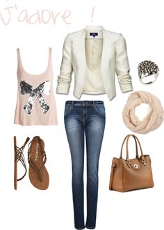 """Summer night"" by fandemode on Polyvore"