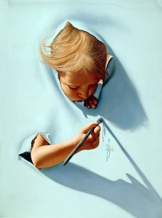 Jim Warren, 1949 ~ Fantasy and Surrealist painter