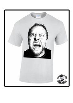 T-Shirt Lars Ulrich von Tattooteddy auf Etsy