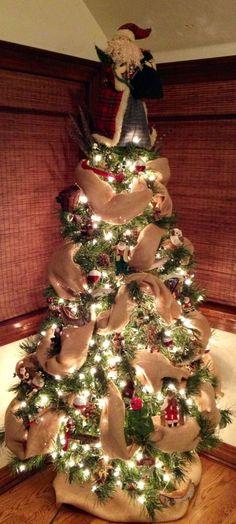 Rustic Christmas Tree | Holiday by jana