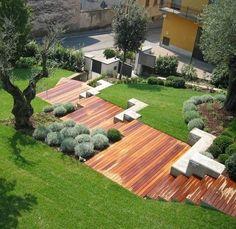 """wglandscape: """" landscape—architecture: """" Contemporary landscape by Silvia Ghirelli Paesaggista """" """""""