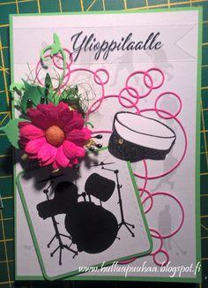 Hullua puuhaa vai vain Hullun puuhaa?: valmistujaiset/ylioppilas Graduation Cards Handmade, Minnie Mouse, Disney Characters, Art, Art Background, Kunst, Performing Arts, Disney Face Characters