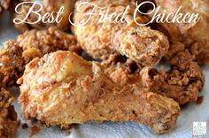 HOW TO MAKE THE BEST EVER FRIED CHICKEN RECIPE - What is my favorite food ever? Fried Chicken! If you like Fried Chicken, you will love this crunchy, juicy, flavorful Best Ever Fried Chicken Recipe!