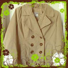 Old Navy true to size khaki jacket. Worn once Women's khaki jacket from Old Navy. Size medium, true to size. Old Navy Jackets & Coats