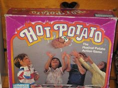 Vintage Hot Potato game LOVED this as a kid