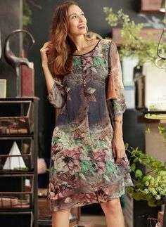 Chiffon Floral 1058260/1058260 Sleeves High Low Elegant Dresses (1058260) @ floryday.com