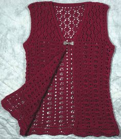 Knitting Pattern Central Bags : 1000+ images about Vest on Pinterest Vests, Womens ...