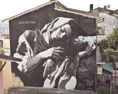 Street Art Masterpiece by Gomez  - Selci (Italy)