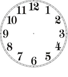 The best selections of blank clock face templates are available for your kids in high definition that they can use as the media to learn telling time. Wall Clock Template, Blank Clock Faces, Clock Clipart, Clock Face Printable, Face Template, Vitrine Miniature, Diy Clock, Clock Craft, Clock Ideas