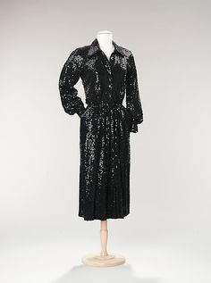 Cocktail dress; Norman Norell, ca. 1959