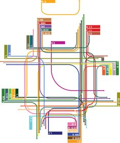 Urban design company proposes bicycle desire paths, helmets for car drivers Map Metro, Urban Mapping, Map Diagram, Wayfinding Signs, Urban Analysis, Map Wallpaper, Information Design, Architecture Drawings, Map Design
