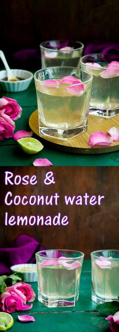 Diwali special- Rose and coconut water lemonade! Its sweet, refreshing, healthy with a subtle hint of floral aroma- perfect for festive entertaining. Avocado Smoothie, Best Nutrition Food, Health And Nutrition, Nutrition Articles, Proper Nutrition, Nutrition Websites, Nutrition Products, Nutrition Education, Fitness Nutrition