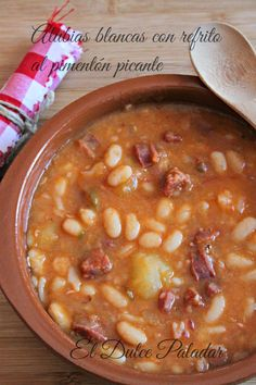 Spanish Food, Cheeseburger Chowder, Stew, Tapas, Crockpot, Food To Make, Recipies, Food Porn, Food And Drink