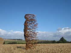 Sculpture made from found bits and pieces of scrap metal, used to create a piece with renewed life and energy  Limited Edition Mild Steel 159cm x 75cm x 50cm Edition of 9