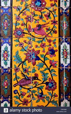 #Iran #Tourism  #BeautifulNature #Beautiful #Nature #Iran_food #Architecture #Iranianart #must_see_iran #irantravel #nature #iran_landscape  #ایران #طبیعت #توریسم Islamic Art Pattern, Pattern Art, Tile Art, Mosaic Art, Tiles, Persian Pattern, Persian Motifs, Persian Architecture, Islamic Paintings