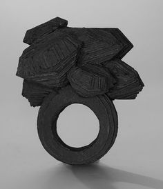 Ring | Yael Friedman.  Constructed paper.