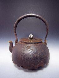 古美術西川~鉄瓶.銀瓶