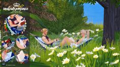 Sims 4 CC's - The Best: Poses by In a bad Romance
