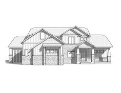 Seaside - 2 Story Craftsman style house plan - Walker Home Design