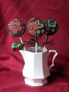 Cheesecake pops...whimsical!
