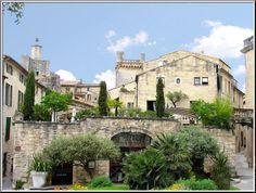 Uzes , south France