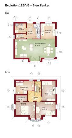 Offener Grundriss einfamilienhaus grundriss modern 4 zimmer erdgeschoss offen