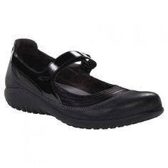 NAOT Kirei Shiny Black Combo Mary-Jane Shoes Mary Jane Shoes, Mary Janes, Slip On, Winter, Sneakers, Black, Fashion, Mary Jane Wedges, Winter Time