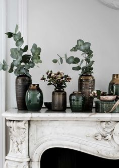 Pretty Danish Christmas inspiration from Broste Copenhagen. Interior Inspiration, Design Inspiration, Design Ideas, Room Inspiration, Design Trends, L Eucalyptus, Danish Christmas, Interior Styling, Interior Design