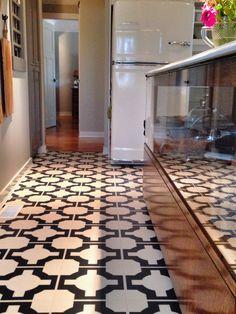 @Harvey Miedreich Maria Neisha Crosland parquet charcoal flooring.