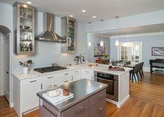 Crocker Highlands Kitchen - contemporary - kitchen - san francisco - Cillesa Interior Design & Space Planning