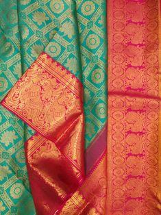 Kanjivaram Sarees Silk, Banarsi Saree, Kanchipuram Saree, Art Silk Sarees, South Indian Wedding Saree, Indian Bridal Sarees, Wedding Silk Saree, Pattu Sarees Wedding, Half Saree Lehenga