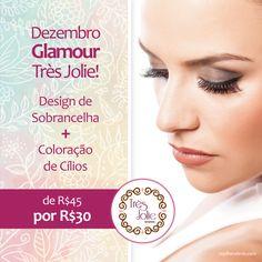 Card Dezembro Glamour Très Jolie