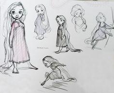 The Blank Sketchbook: Rapunzel