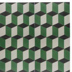 Encaustic Cement Tile - A110