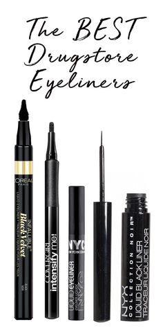 These are the best drugstore eyeliners, and they won't smear.