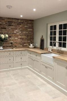 Kitchen Room Design, Home Decor Kitchen, Interior Design Kitchen, Home Kitchens, Interior Logo, Interior Colors, Interior Modern, Diy Kitchen, Modern Furniture