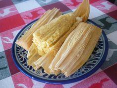 Tamales de almendra
