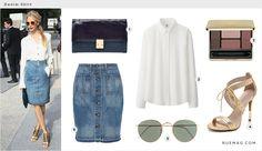 Denim Skirt | Rue