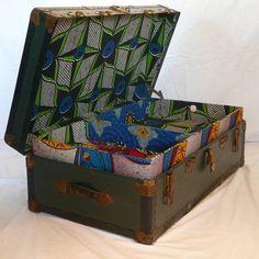 Blanche Dlys Designs Vintage African Trunk