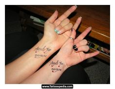 a06883158 nice Friend Tattoos - 2017 trend Friend Tattoos - FriendShip Tattoos Friends  are Forever–And So Is . Tattoomaze · Cute Best Friend Finger Tattoo