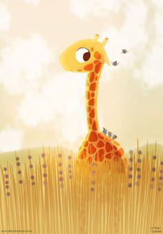 "Items similar to Giraffe Print, Giraffe Nursery Decor, Baby Giraffe Art, Modern Family Nursery Art, Wall Art - ""Savannah"" on Etsy Giraffe Nursery, Giraffe Art, Cute Giraffe, Nursery Wall Art, Nursery Decor, Giraffe Painting, Giraffe Kunst, Cartoon Giraffe, Bedroom Art"