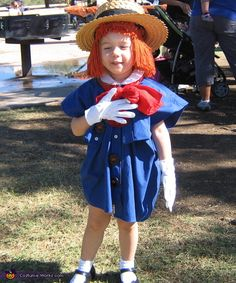 Madeline - Halloween Costume Contest via @costumeworks