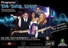 THE DARK NIGHT com DJ IVES MORGEN [ 26/11/15 ] – Entrevista com Angel Of Blood – Blutengel Tribute Virtual Community, Online Web, Dark Night, Second Life, The Darkest, Dj, Indie, Blood, Angel